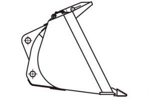 Ковш ТО-28.60.02.000 (V=1.9 м3)
