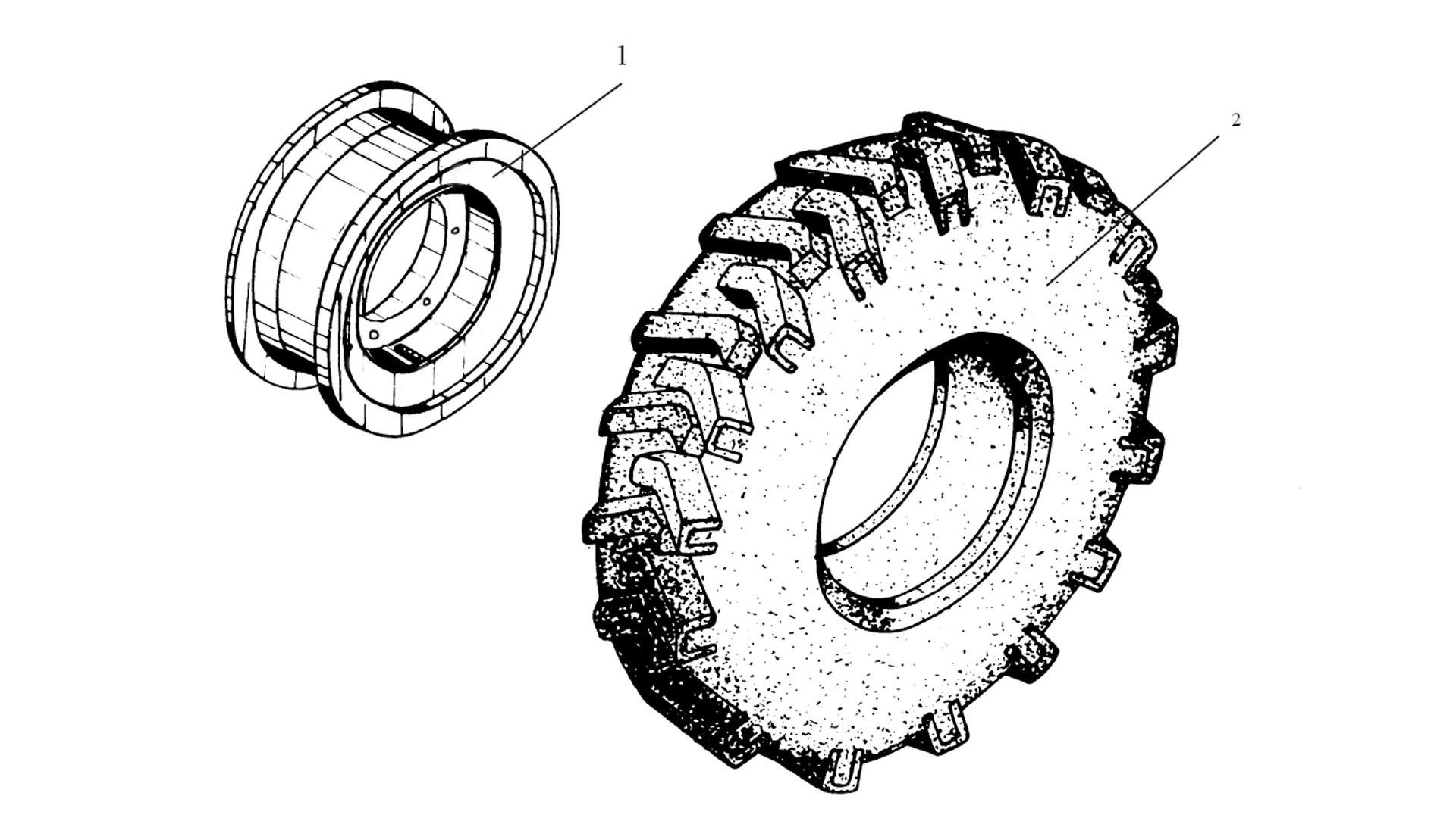 Колесо ТО-18Д.35.02.000